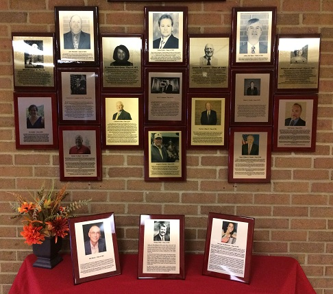 Wall of Graduate of Distinction Honorees